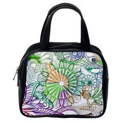Zentangle Mix 1116c Classic Handbags (One Side)