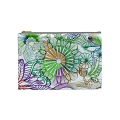 Zentangle Mix 1116c Cosmetic Bag (Medium)