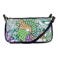 Zentangle Mix 1116c Shoulder Clutch Bags
