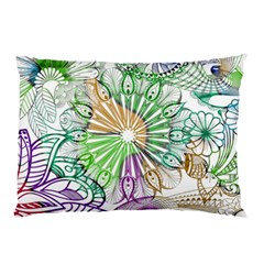 Zentangle Mix 1116c Pillow Case (Two Sides)