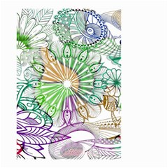 Zentangle Mix 1116c Small Garden Flag (Two Sides)