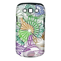 Zentangle Mix 1116c Samsung Galaxy S III Classic Hardshell Case (PC+Silicone)