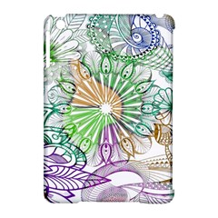 Zentangle Mix 1116c Apple iPad Mini Hardshell Case (Compatible with Smart Cover)