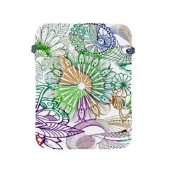 Zentangle Mix 1116c Apple iPad 2/3/4 Protective Soft Cases