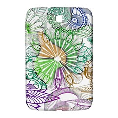 Zentangle Mix 1116c Samsung Galaxy Note 8.0 N5100 Hardshell Case