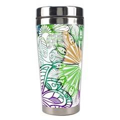 Zentangle Mix 1116c Stainless Steel Travel Tumblers
