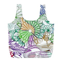 Zentangle Mix 1116c Full Print Recycle Bags (L)