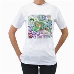 Zentangle Mix 1116c Women s T-Shirt (White)