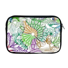 Zentangle Mix 1116c Apple Macbook Pro 17  Zipper Case