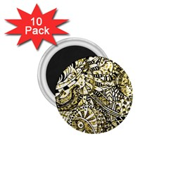 Zentangle Mix 1216a 1.75  Magnets (10 pack)