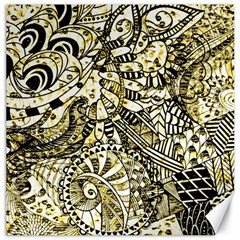 Zentangle Mix 1216a Canvas 16  x 16