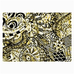 Zentangle Mix 1216a Large Glasses Cloth (2-Side)