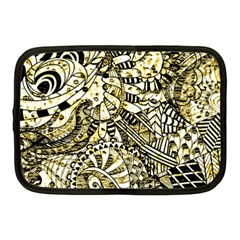 Zentangle Mix 1216a Netbook Case (Medium)