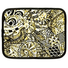 Zentangle Mix 1216a Netbook Case (Large)