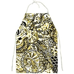 Zentangle Mix 1216a Full Print Aprons