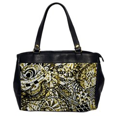 Zentangle Mix 1216a Office Handbags