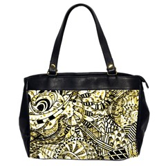 Zentangle Mix 1216a Office Handbags (2 Sides)