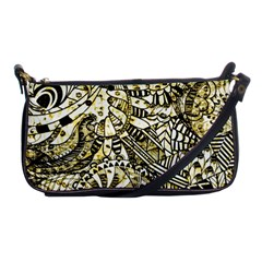 Zentangle Mix 1216a Shoulder Clutch Bags