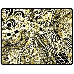 Zentangle Mix 1216a Fleece Blanket (Medium)