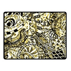 Zentangle Mix 1216a Fleece Blanket (Small)