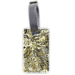Zentangle Mix 1216a Luggage Tags (Two Sides)