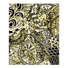 Zentangle Mix 1216a Shower Curtain 60  x 72  (Medium)