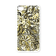 Zentangle Mix 1216a Apple iPhone 4 Case (White)