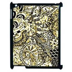 Zentangle Mix 1216a Apple iPad 2 Case (Black)