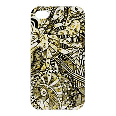 Zentangle Mix 1216a Apple iPhone 4/4S Hardshell Case