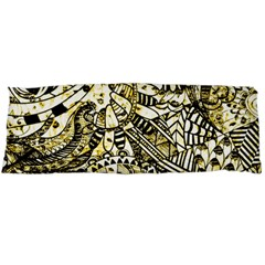 Zentangle Mix 1216a Body Pillow Case Dakimakura (Two Sides)