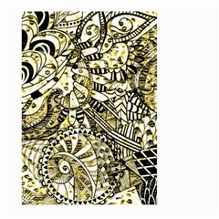 Zentangle Mix 1216a Large Garden Flag (Two Sides)