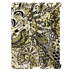 Zentangle Mix 1216a Apple iPad 3/4 Hardshell Case (Compatible with Smart Cover)