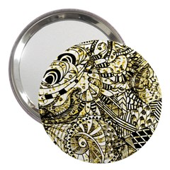 Zentangle Mix 1216a 3  Handbag Mirrors