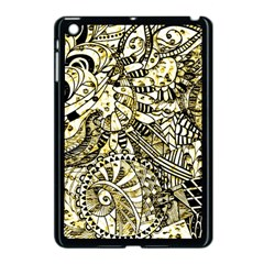 Zentangle Mix 1216a Apple iPad Mini Case (Black)