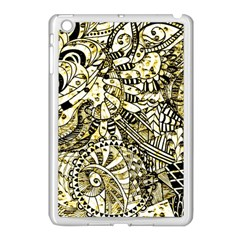 Zentangle Mix 1216a Apple iPad Mini Case (White)