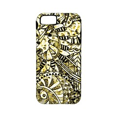 Zentangle Mix 1216a Apple iPhone 5 Classic Hardshell Case (PC+Silicone)