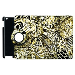 Zentangle Mix 1216a Apple iPad 2 Flip 360 Case