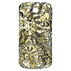 Zentangle Mix 1216a Samsung Galaxy S3 S III Classic Hardshell Back Case
