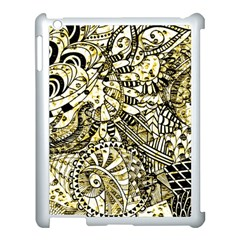Zentangle Mix 1216a Apple iPad 3/4 Case (White)