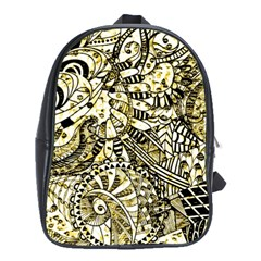 Zentangle Mix 1216a School Bags (XL)