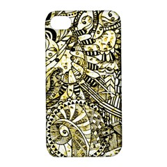Zentangle Mix 1216a Apple iPhone 4/4S Hardshell Case with Stand