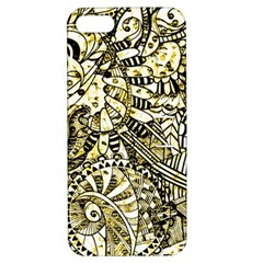 Zentangle Mix 1216a Apple iPhone 5 Hardshell Case with Stand