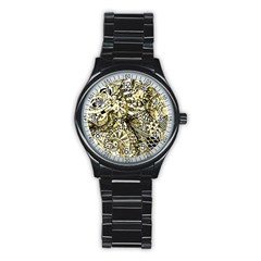 Zentangle Mix 1216a Stainless Steel Round Watch