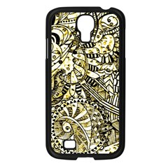 Zentangle Mix 1216a Samsung Galaxy S4 I9500/ I9505 Case (Black)