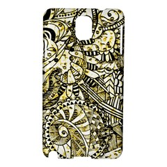Zentangle Mix 1216a Samsung Galaxy Note 3 N9005 Hardshell Case