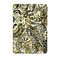 Zentangle Mix 1216a Samsung Galaxy Tab 2 (10.1 ) P5100 Hardshell Case