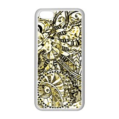 Zentangle Mix 1216a Apple iPhone 5C Seamless Case (White)
