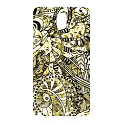 Zentangle Mix 1216a Samsung Galaxy Note 3 N9005 Hardshell Back Case