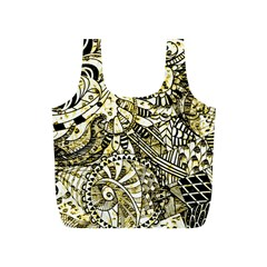 Zentangle Mix 1216a Full Print Recycle Bags (S)