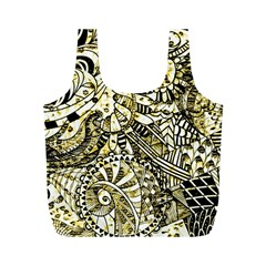 Zentangle Mix 1216a Full Print Recycle Bags (M)